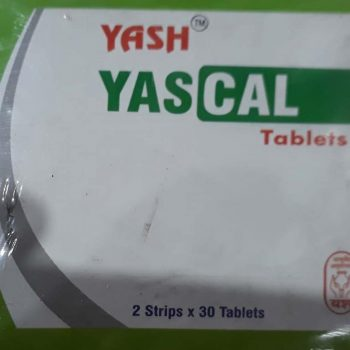Yascal Tablets ( Shri Yash Remedies) 60tab 3 pack